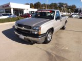 2005 Silver Birch Metallic Chevrolet Silverado 1500 Regular Cab #73233520