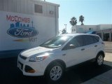 2013 Oxford White Ford Escape S #73233213