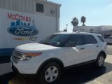 2013 Oxford White Ford Explorer FWD #73233212