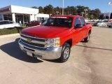 2012 Victory Red Chevrolet Silverado 1500 LT Crew Cab #73233515
