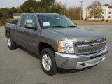 2013 Graystone Metallic Chevrolet Silverado 1500 LT Extended Cab 4x4 #73233709