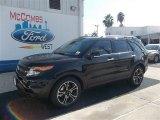 2013 Tuxedo Black Metallic Ford Explorer Sport 4WD #73233208