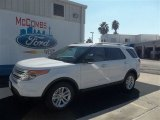 2013 Oxford White Ford Explorer XLT #73233207