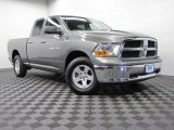 2012 Mineral Gray Metallic Dodge Ram 1500 SLT Quad Cab 4x4 #73233558