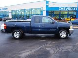 2012 Imperial Blue Metallic Chevrolet Silverado 1500 LT Extended Cab #73233198