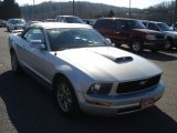 2006 Satin Silver Metallic Ford Mustang V6 Premium Convertible #73233382
