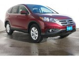 2013 Basque Red Pearl II Honda CR-V EX #73233376