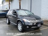 2007 Super Black Nissan Murano SE AWD #7272921