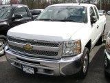 2012 Summit White Chevrolet Silverado 1500 LT Extended Cab 4x4 #73288695