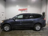 2013 Atlantis Blue Metallic Chevrolet Traverse LS #73289496