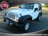 2012 Bright White Jeep Wrangler Sport 4x4 #73289383