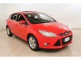 2012 Race Red Ford Focus SEL 5-Door #73289254