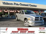 2004 Bright Silver Metallic Dodge Ram 1500 SLT Sport Quad Cab 4x4 #73289449