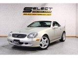 2002 Mercedes-Benz SLK designo Silver Metallic