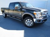 2012 Green Gem Metallic Ford F250 Super Duty Lariat Crew Cab 4x4 #73289002
