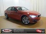 2013 Melbourne Red Metallic BMW 3 Series 335i Sedan #73289086