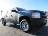 2013 Blue Granite Metallic Chevrolet Silverado 1500 Work Truck Crew Cab 4x4 #73289059