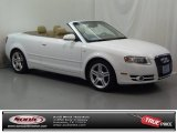 2008 Ibis White Audi A4 2.0T Cabriolet #73289056
