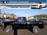 2013 Black Chevrolet Silverado 1500 LS Regular Cab 4x4 #73289394