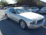 2005 Satin Silver Metallic Ford Mustang V6 Premium Coupe #73288829