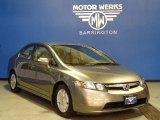 2006 Galaxy Gray Metallic Honda Civic Hybrid Sedan #73288730