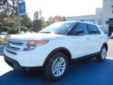 2013 Oxford White Ford Explorer XLT #73347661