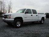 2006 Summit White Chevrolet Silverado 1500 LT Crew Cab 4x4 #73348128