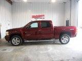2013 Deep Ruby Metallic Chevrolet Silverado 1500 LTZ Crew Cab 4x4 #73348244