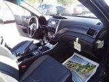 2012 Subaru Impreza WRX STi Limited 4 Door STi Limited Carbon Black Interior