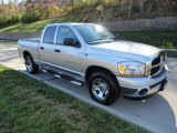 2006 Bright Silver Metallic Dodge Ram 1500 ST Quad Cab #73347540