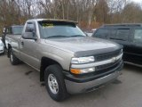 2000 Light Pewter Metallic Chevrolet Silverado 1500 Regular Cab 4x4 #73347772