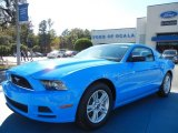 2013 Grabber Blue Ford Mustang V6 Coupe #73347648