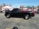 2011 Black Chevrolet Silverado 1500 Regular Cab 4x4 #73348005