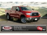 2013 Barcelona Red Metallic Toyota Tundra SR5 CrewMax 4x4 #73347401