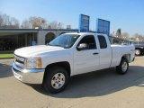 2013 Summit White Chevrolet Silverado 1500 LT Extended Cab 4x4 #73347621