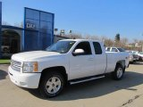 2013 Summit White Chevrolet Silverado 1500 LT Extended Cab 4x4 #73347619