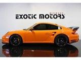 2007 Orange Porsche 911 Turbo Coupe #73348205