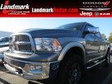 2010 Mineral Gray Metallic Dodge Ram 1500 Laramie Crew Cab 4x4 #73347718