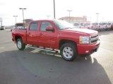 2011 Victory Red Chevrolet Silverado 1500 LTZ Crew Cab 4x4 #73347974