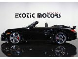 2012 Black Porsche 911 Turbo Cabriolet #73348188