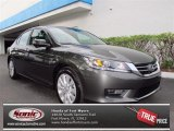 2013 Hematite Metallic Honda Accord EX-L Sedan #73347469