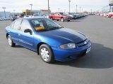 Arrival Blue Metallic Chevrolet Cavalier in 2003