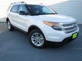 2013 White Platinum Tri-Coat Ford Explorer XLT #73347823