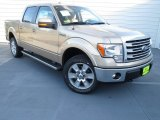2013 Pale Adobe Metallic Ford F150 Lariat SuperCrew 4x4 #73347819