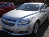 2013 Silver Ice Metallic Chevrolet Malibu LTZ #73347441