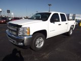 2013 Summit White Chevrolet Silverado 1500 LT Crew Cab 4x4 #73347936