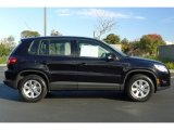 2009 Volkswagen Tiguan Deep Black Metallic