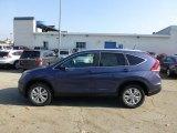 2013 Twilight Blue Metallic Honda CR-V EX-L AWD #73348035