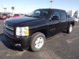 2013 Black Chevrolet Silverado 1500 LT Crew Cab 4x4 #73347934