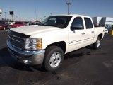 2013 White Diamond Tricoat Chevrolet Silverado 1500 LT Crew Cab 4x4 #73347933